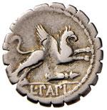 Papia - L. Papius - Denario (79 a.C.) Testa ...