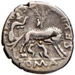 Pompeia - Sex. Pompeius Fostlus - Denario ...