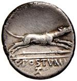 Postumia - C. Postumius - Denario (74 a.C.) ...