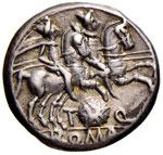 Quinctia - Ti. Quinctius Flaminius - Denario ...