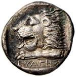 CARIA Knidos  - Tetradramma (390-330 a.C.) ...