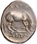 TESSAGLIA Larissa Dracma (395-344 a.C.) ...