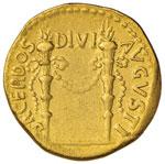 Antonia (madre di Claudio) Aureo - Busto ...