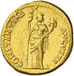ROMA IMPERO Antonia (madre di Claudio) Aureo ...