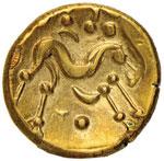 BRITANNIA Ambiani - Statere (65-45 a.C.) ...