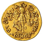 OSTROGOTI Monetazione a nome di Giustiniano ...