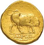Augusto (27 a.C.-14 d.C.) Aureo (Lugdunum) ...