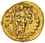 Valentiniano III (430-435) Solido (Ravenna) ...