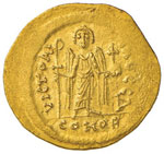 Maurizio Tiberio (582-602) Solido – Busto ...