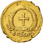 Zeno (475-476) Tremisse (Roma) Busto a d. ...