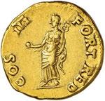 ROMA IMPERO Vespasiano (69-79) Aureo (Lione) ...