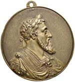 Carlo V (1500-1558) Placchetta – AE (g 328 ...