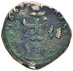 Carlo II (1665-1700) Messina 3 Tarì 1666 ...