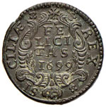 Carlo II (1665-1700) Emissioni definitive ...