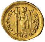 Leone con Zeno (474) Solido (Costantinopoli) ...