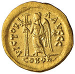 Basilisco (475-476) Solido (Costantinopoli) ...