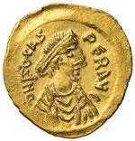 Focas (602-610) Semisse ...
