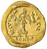 Focas (602-610) Semisse – Busto a d. – ...