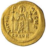 Focas (602-610) Solido – Busto coronato di ...