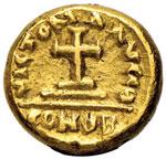 Eraclio (610-641) Solido (Cartagine) Busti ...