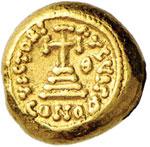 Costante II (641-668) Solido (Cartagine) ...