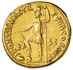 Nerone (54-68) Aureo - Testa a d. - R/ ...