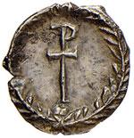 Giustiniano I (527-565) Quarto di siliqua ...
