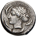 SICILIA Siracusa - Tetradramma (466-405 ...