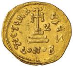 Costante II (641-668) Solido – Busto di ...