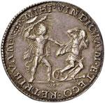 FERRARA Ercole II (1534-1559) Mezzo scudo ...