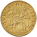 FERRARA Alfonso I (1505-1534) Doppio ducato ...