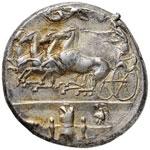 SICILIA Dioniso I (406-367 a.C.) Decadramma ...