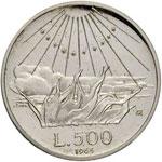 Repubblica italiana (1946-) 500 Lire 1965 ...