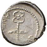 Ottaviano Denario (zecca itinerante, 39 ...