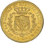 Carlo Felice (1821-1831) 40 Lire 1825 G – ...