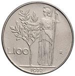 Repubblica italiana (1946-) Errori 100 Lire ...