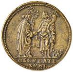 Giulio II (1503-1513) Medaglia Pace di Blois ...