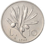 Repubblica italiana (1946-) 10, 5, 2 e una ...