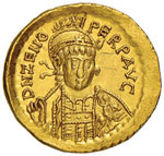 Zeno (475-476) Solido ...