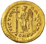 Zeno (475-476) Solido (Costantinopoli) Busto ...