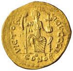 Giustino II (565-578) Solido – Busto ...