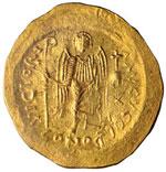 Giustiniano I (527-565) Solido – Busto ...