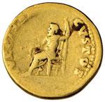 Nerone (54-68) Aureo - Testa laureata a d. - ...