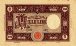 Banca d'Italia - 1.000 ...