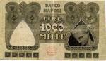 Banco di Napoli - 1.000 Lire 15/01/1921 GJ ...