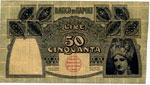 Banco di Napoli - 50 Lire 23/02/1911 RB ...