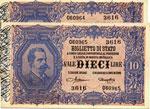 Biglietti di Stato - 10 Lire 19/09/1923 3616 ...