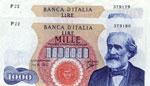 Banca d'Italia - 1.000 Lire 14/01/1964 P ...
