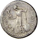 Cesare (+ 44 a.C.) Denario (44 a.C.) Testa ...
