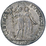 GENOVA Repubblica ligure (1798-1805) 4 Lire ...